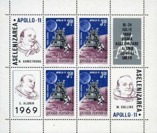 [Airmail - Apollo 11 - The First Manned Moon Landing, type ]