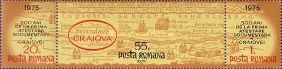 [The 500th Anniversary of Craiova, type ]