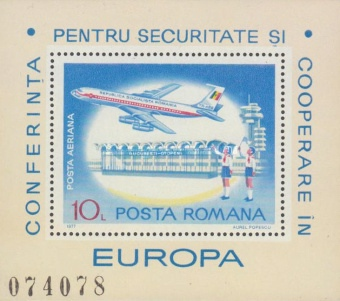 [Airmail - International Conference on Security and Cooperation in Europe, Belgrade, type ]