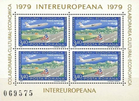 [INTEREUROPEANA - Post & Telecommunications - Postal Delivery, type ]