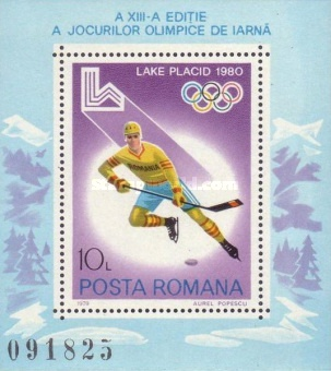[Winter Olympic Games - Lake Placid 1980, USA, type ]