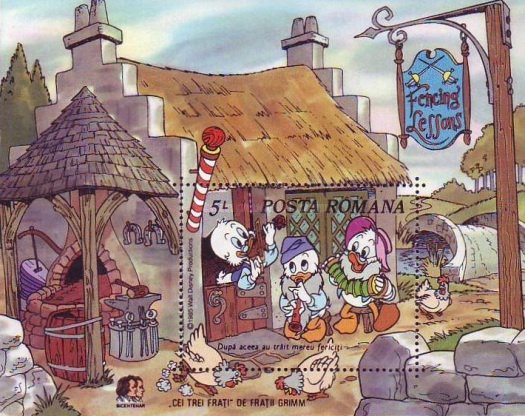 [Disney - The 150th Anniversary of the Birth of Mark Twain & The 200th Anniversary of the Birth of Grimm Brothers, type ]