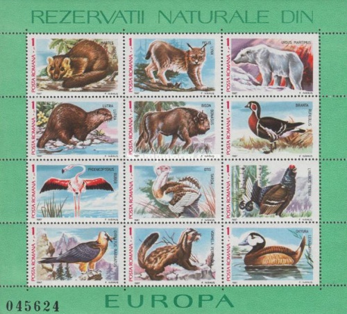 [Fauna of European National Parks, type ]