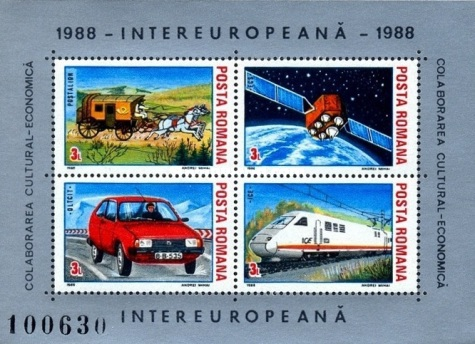 [INTEREUROPEANA - Transportation and Communications, type ]