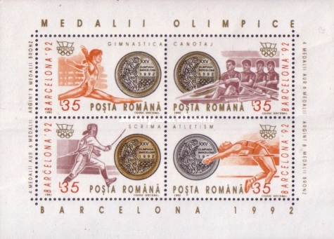 [Romanian Medals at the Barcelona Olympic Games, type ]
