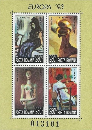 [EUROPA Stamps - Contemporary Art, type ]