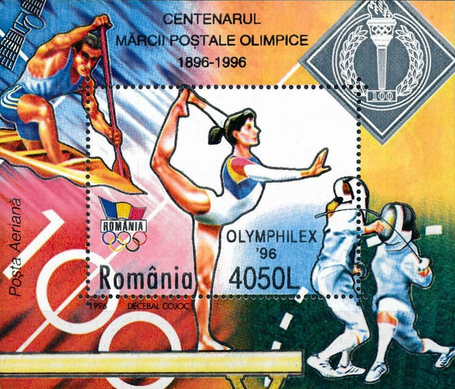 [The 100th Anniversary of the International Olympic Committee IOC - Olympic Games, Atlanta, type ]