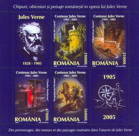 [The 100th Anniversary of the Death of Jules Verne, type ]