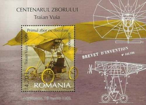 [The 100th Anniversary of the Flight of Traian Vuia, type ]
