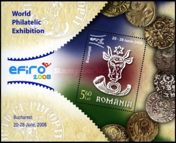 [World Philatelic Exhibition EFIRO 2008, Bucharest, type ]