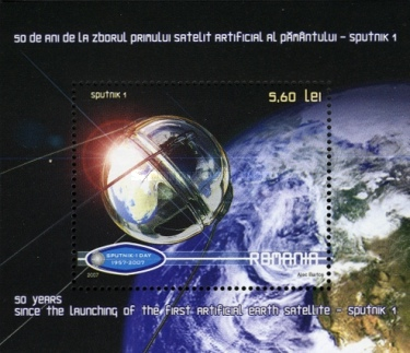 [The 50th Anniversary of Sputnik 1 Satellite, type ]