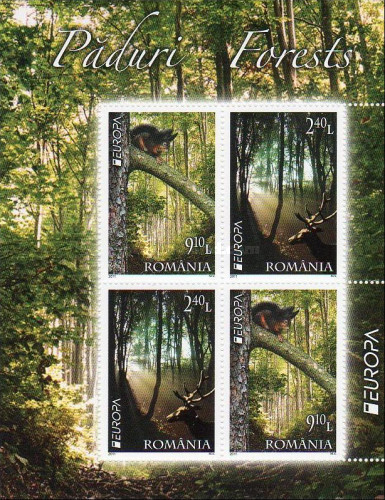 [EUROPA Stamps - The Forest, type ]