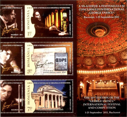 [The 20th Edition of George Enescu International Festival and Competition, type ]