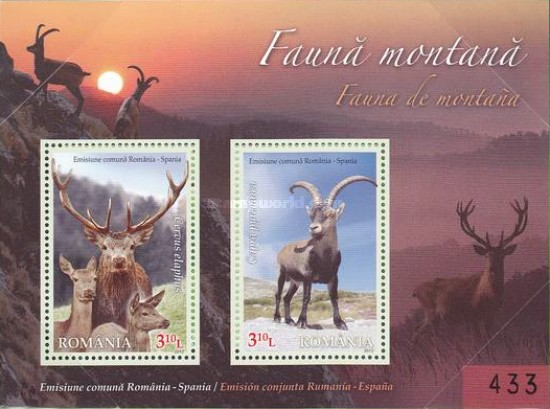 [Mountain Fauna - Joint Issue with Spain, type ]