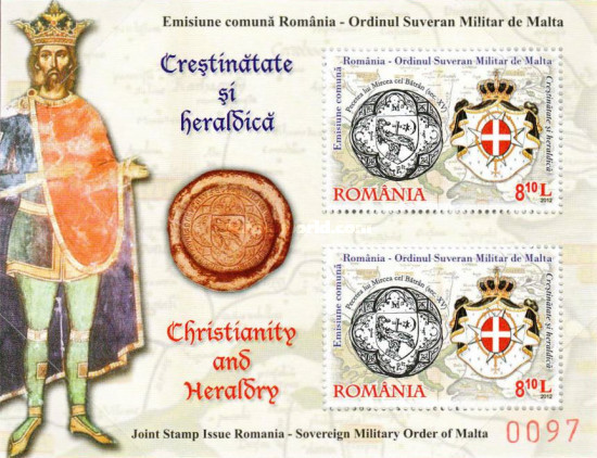 [Christianity and Heraldry - Joint Issue with Sovereign Military Order of Malta, type ]