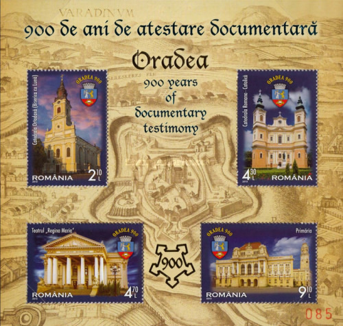 [Oradea - 900 Years of Documentary Evidence, type ]