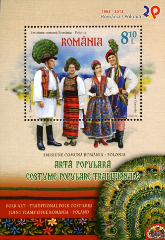 [Traditional Folk Costumes - Joint Issue with Poland, type ]