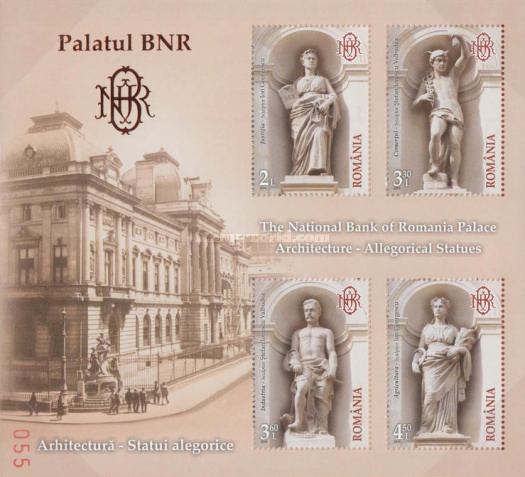 [National Bank of Romania Palace - Allegorical Statues, type ]