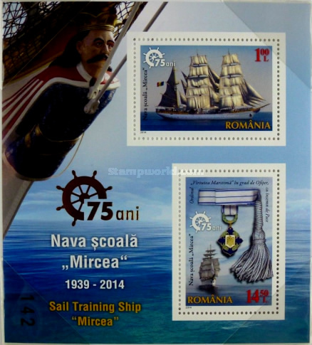 [The 75th Anniversary of the Sail Traning Ship Mircea, type ]