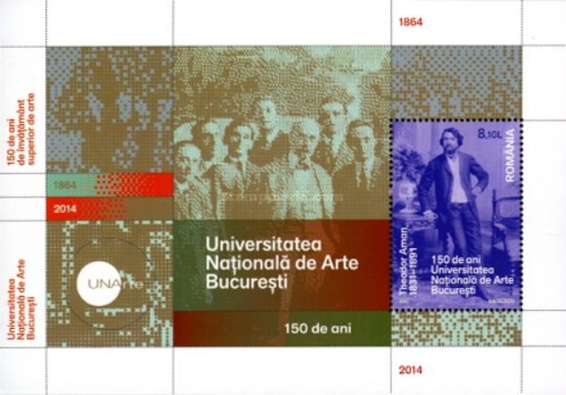 [The 150th Anniversary of the National University of Arts, type ]