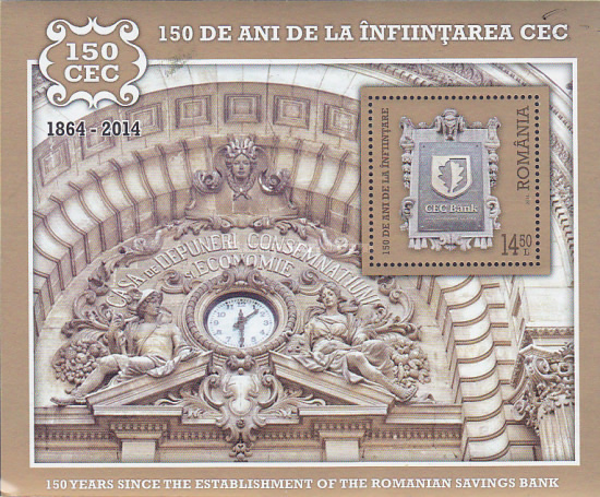 [The 150th Anniversary of the CEC bank, type ]