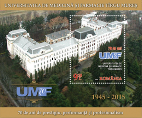 [The 70th Anniversary of The University of Medicine and Pharmacy of Tîrgu Mureș, type ]