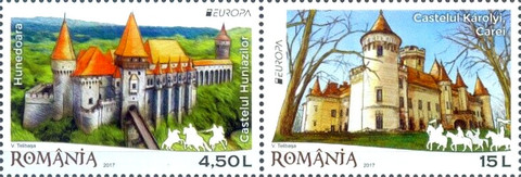 [EUROPA Stamps -  Palaces and Castles, type ]