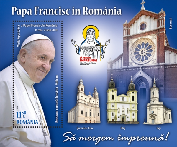 [Pope Francis Visits Romania, type ]