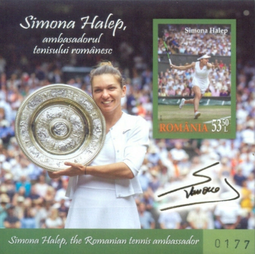 [Simona Halep - The Romanian Tennis Ambassador, type ]