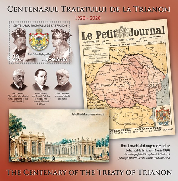 [The 100th Anniversary of the Paris Peace Treaty, type ]