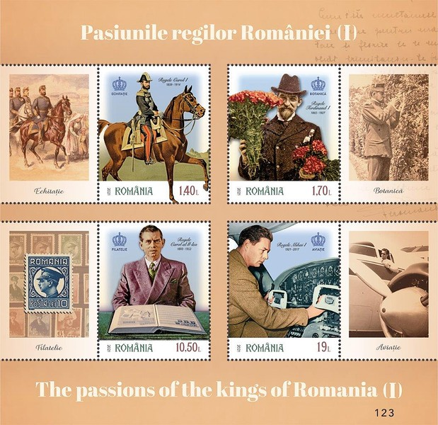 [The Passions of the Kings of Romania, type ]