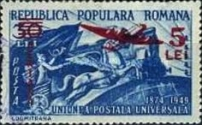 [Airmail - Universal Postal Union Stamps of 1949 Surcharged, type ATU1]