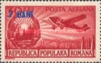 [Airmail - Airmail Stamp of 1950 Surcharged, type AVD1]