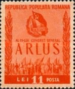 [The 3rd Congress of the Romanian Society for Friendship with the Soviet Union(ARLUS), type AVQ]