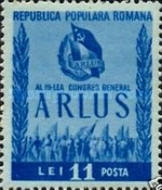 [The 3rd Congress of the Romanian Society for Friendship with the Soviet Union(ARLUS), type AVR]