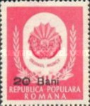 [Labour Day Stamps of 1951 Surcharged, type AWI1]