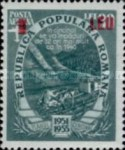 [Airmail - Five Year Plan Stamps of 1951-1952 Surcharged, type AXL1]