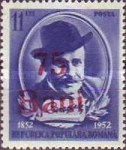 [The 100th Anniversary of the Birth of Ion Luca Caragiale - Surcharge on Not Issued Stamps, type AXW]