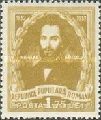 [The 100th Anniversary of the Death of Nicolae Balcescu(1819-1852), type AZQ]