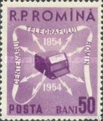 [The 100th Anniversary of the Telegraph in Romania, type BCU]