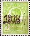 [No. 223 & 224 Overprinted 1918 in Red or Black, type BE]