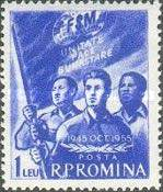 [The 10th Anniversary of the International Trade Union, type BEL]