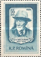 [The 100th Anniversary of the Birth of Ivan V. Michurin(1855-1935), type BER]