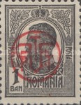 [King Karl I Issue of 1909-1914 Overprinted, type BF]