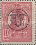 [King Karl I Issue of 1909-1914 Overprinted, type BF2]