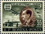 [The 50th Anniversary of the First Flight Attempt Of Traian Vuia(1872-1950), type BGE]