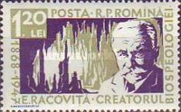 [The 10th Anniversary of the Death of Emil Racovita, type BMB]