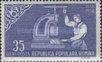 [The 100th Anniversary of the Romanian Postage Stamps, type BMT]