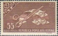 [The 100th Anniversary of the Romanian Postage Stamps, type BMU]