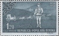 [The 100th Anniversary of the Romanian Postage Stamps, type BMV]